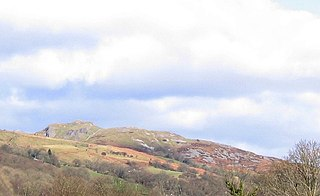 Cribarth mountain in United Kingdom