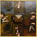 The Smoker, anamorphic painting with pyramidal mirror, Lisbon, before 1773 - Museu da Ciência da Universidade de Coimbra - University of Coimbra - Coimbra, Portugal - DSC09170.jpg
