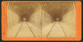 The Summit Tunnel, 1,200 feet long, Livermore Pass, Alameda Co. looking through, Western Pacific Railroad, by Thomas Houseworth & Co..png