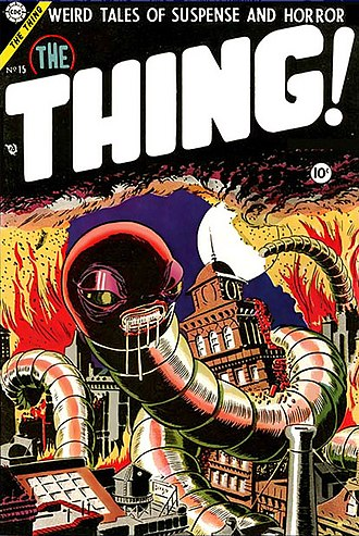 Charlton Comics - Image: The Thing 15
