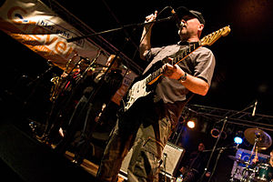 The Toasters - The Toasters (Hingley, foreground) on stage in 2008