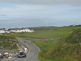 The Trearddur Bay-South Stack road at Porth Dafarch - geograph.org.uk - 1435020.jpg