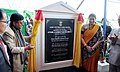 The Union Minister for Textiles, Smt. Smriti Irani inaugurated the Apparel and Garment Making Centre, in Imphal, Manipur on November 27, 2016.jpg