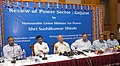 The Union Power Minister, Shri Sushilkumar Shinde reviewed the ongoing power projects in Gujarat, at Ahmedabad, on September 29, 2009.jpg