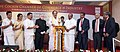 The Vice President, Shri M. Venkaiah Naidu lighting the lamp at an event to celebrate 160 Years of Cochin Chamber of Commerce and Industry, in Kochi, Kerala.jpg
