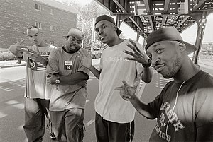 Roc Raida - The X-Ecutioners in the Bronx/NYC near Roc Raidas home