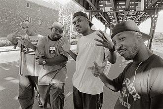 Roc Raida - The X-Ecutioners in the Bronx/NYC near Roc Raidas home