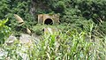 The abandoned tunnel of Central Cross-Island Highway in Taiwan.jpg