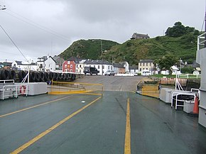 The first ferry of the day from Passage East - geograph.org.uk - 1388506.jpg