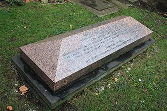 Alexander Geddes - The grave of Rev Alexander Geddes, St Marys Paddington