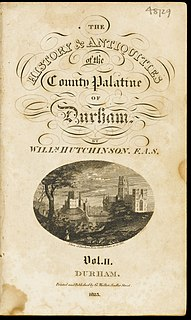 County Palatine of Durham Area in northern England previously governed by the Bishop of Durham