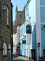 The narrow streets of Fowey - geograph.org.uk - 1240354.jpg