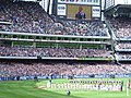 The players line up for the national anthem prior to the 2007 AFL Grand Final.jpg