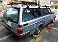 The rearview of VOLVO 240 WAGON GL.JPG