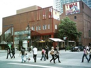 Théâtre du Nouveau Monde - The Théâtre du Nouveau Monde on 84 rue Sainte-Catherine Ouest in Montréal.