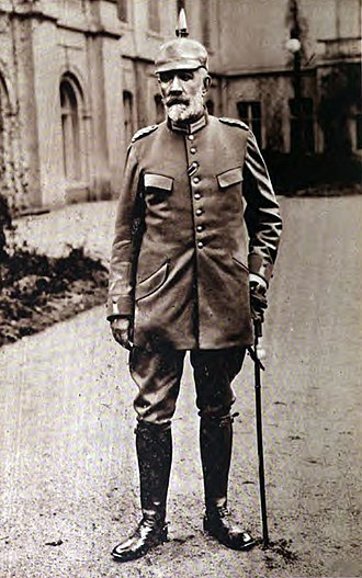 Theobald von Bethmann-Hollweg - In uniform. He never served in the army, but after the war started, he was appointed to an honorary rank with a general's uniform.