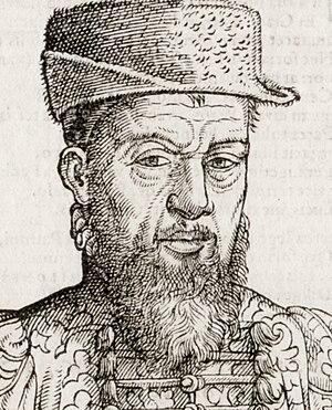 Theodor Zwinger - Image: Theodorus Zwingerus Basiliensis, medicus (détail)