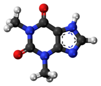 Theophylline 3D ball.png