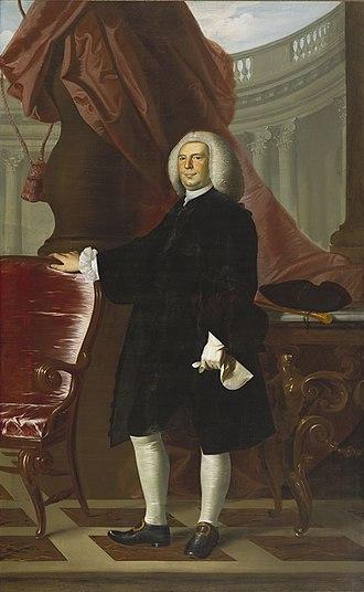Thomas Hancock (merchant) - Portrait of Hancock by John Singleton Copley