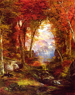 Thomas Moran - Under the Trees