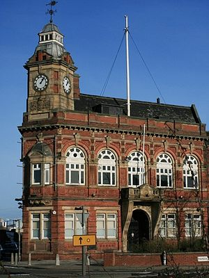 Thornaby-on-Tees - Image: Thornaby Town Hall geograph.org.uk 323998