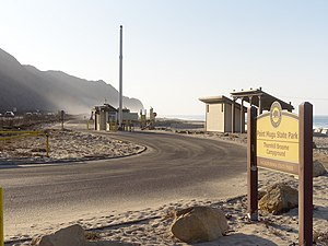 Point Mugu State Park - Entrance to Thornhill Broome Campground