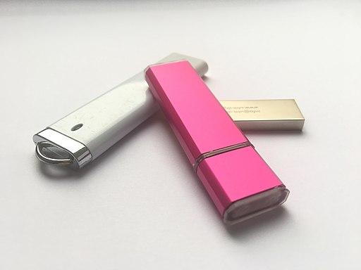 Three USB Flash Drives