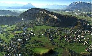 Luftfoto des Inselbergs von Nordosten