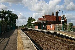 Thurston railway station Thurston, Mid Suffolk, Suffolk, IP31