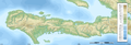 Tiburon blank map with topography.png