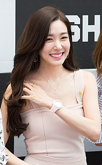 Tiffany Hwang at Starfield Hanam G-SHOCK fan signing on April 16, 2017 (5).jpg