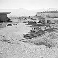 Timna in de Negevwoestijn het terrein van de kopermijnen met enkele hallen en o, Bestanddeelnr 255-3658.jpg