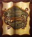 Tito chini, soffitto con segni zodiacali, 1932, pesci.jpg