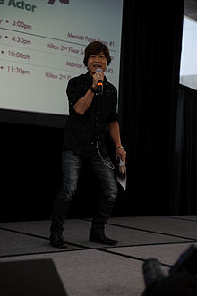 Description de l'image  Tohru Furuya at Fanime Opening Ceremony (2).jpg.