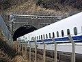 Tokaido Shinkansen Tamari tunnel 01.jpg