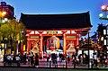 Tokio Tempel Senso-ji bei Nacht 1.jpg