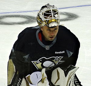 Tomáš Vokoun - Vokoun with the Penguins during the 2012–13 NHL season.