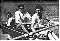 Tomasiak, Nowak i sternik Kubiak na dwójce ze sternikiem.jpg