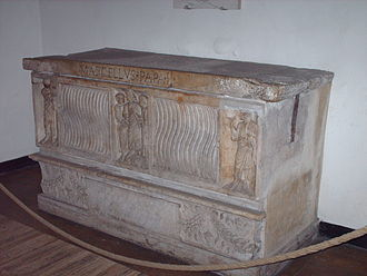 Pope Marcellus II - The tomb of Pope Marcellus II in the grottoes of St. Peter's Basilica in Vatican City