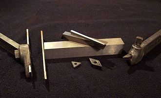 Tool bit - Various tool bits, carbide inserts and holders