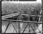 Top chord at panel point - Sanders Ferry Bridge, State Highway 184, Spanning Savannah River, Iva, Anderson County, SC HAER SC,4-SAVRI,1-10.tif