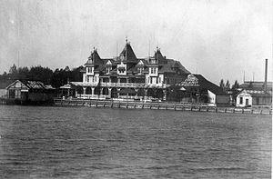 E. J. Lennox - Image: Toronto Hanlan Hotel 1885to 1895