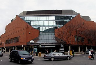 Toronto Reference Library - The library entrance.