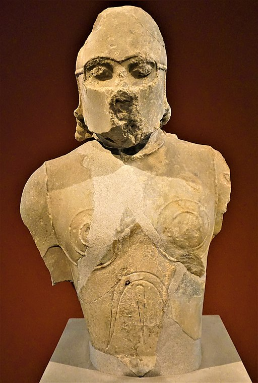 Torso of a Hoplite Warrior - Altes Museum