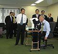 Toshihiro Nikai and Yoichi Masuzoe 20081110.jpg