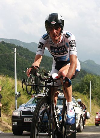 Fränk Schleck - Schleck at the 2009 Tour de France