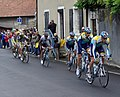 Tour de France 2009 - Stage 14 - Front of the peloton.jpg