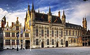 Charles Fryatt - Bruges Town Hall, where Fryatt's court-martial took place