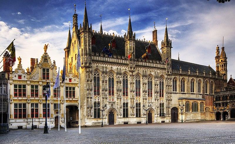 Archivo:Town hall Brugge.jpg
