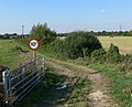 Track to Moor Lane Farm - geograph.org.uk - 553170.jpg